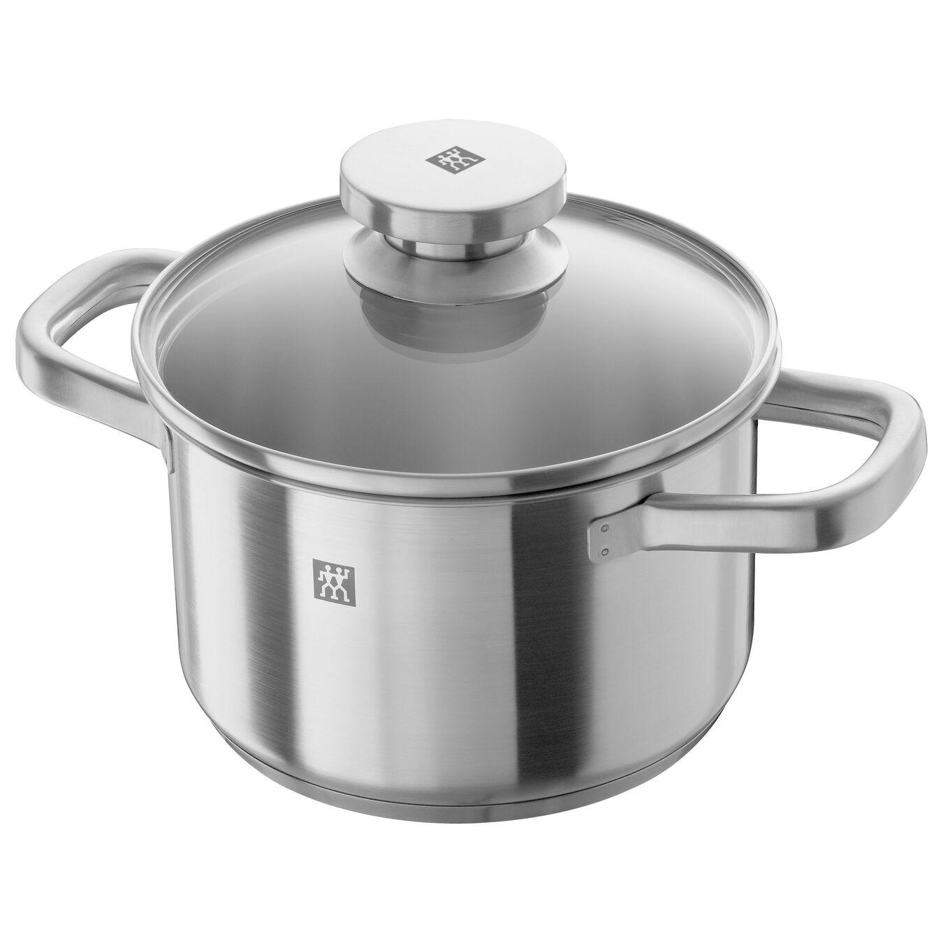 12-pcs 18/10 Stainless Steel Ensemble de casseroles et poêles,,large 2
