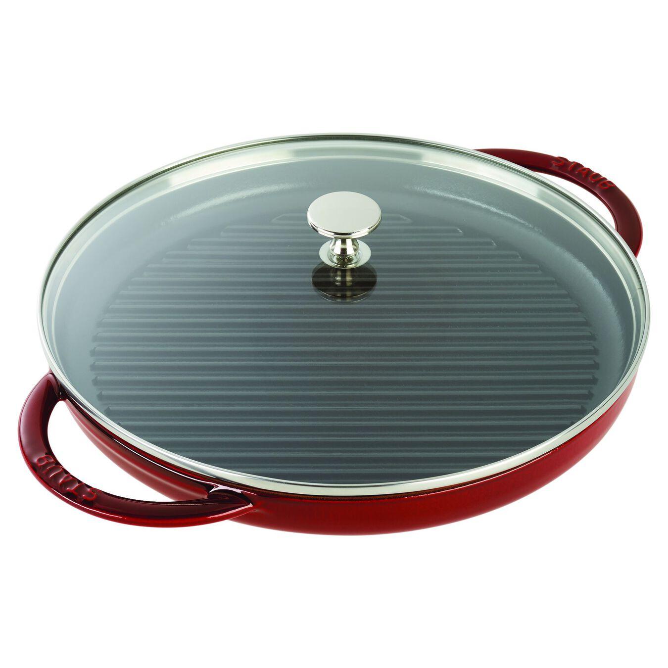 12-inch Round Steam Grill - Grenadine,,large 2