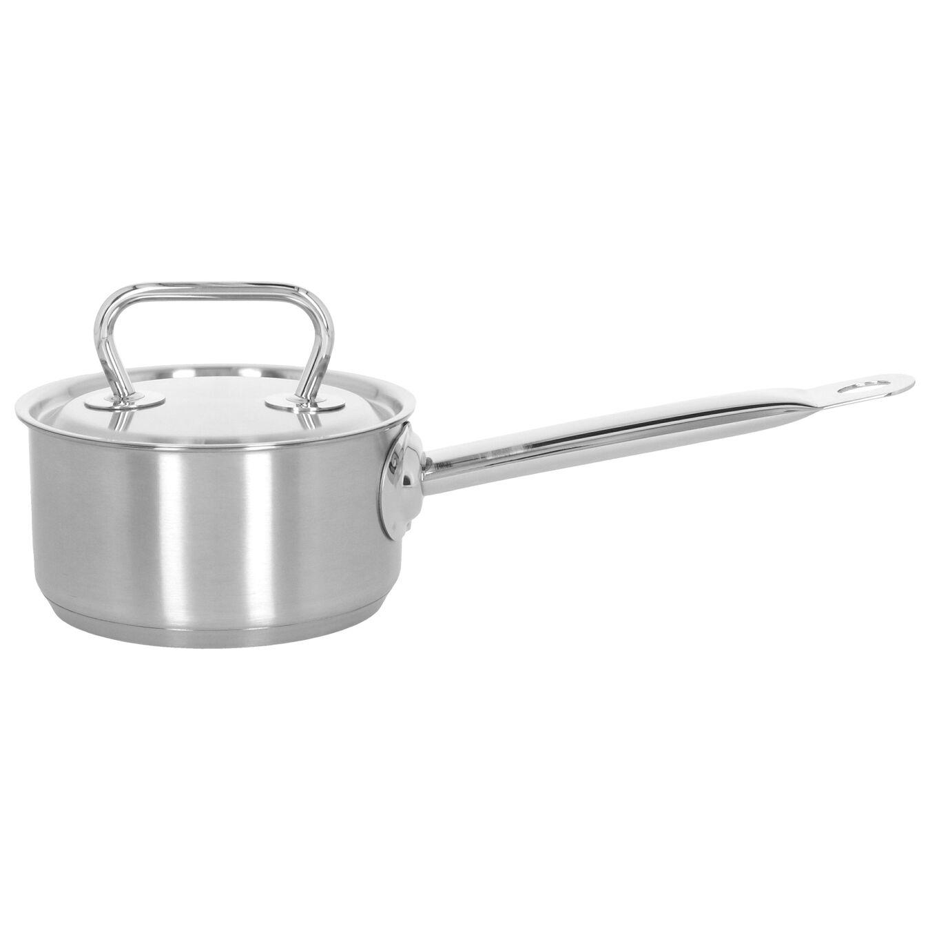 Steelpan met deksel, 14 cm / 1 l,,large 1