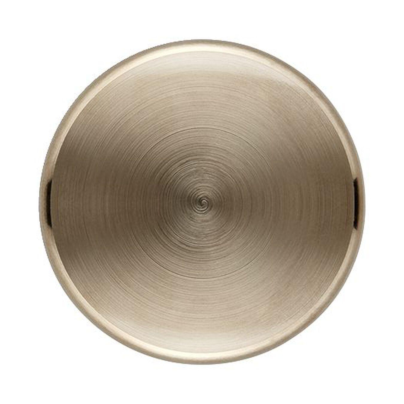 Puxador para caçarola em aço inox maciço 4 cm, Latão,,large 2