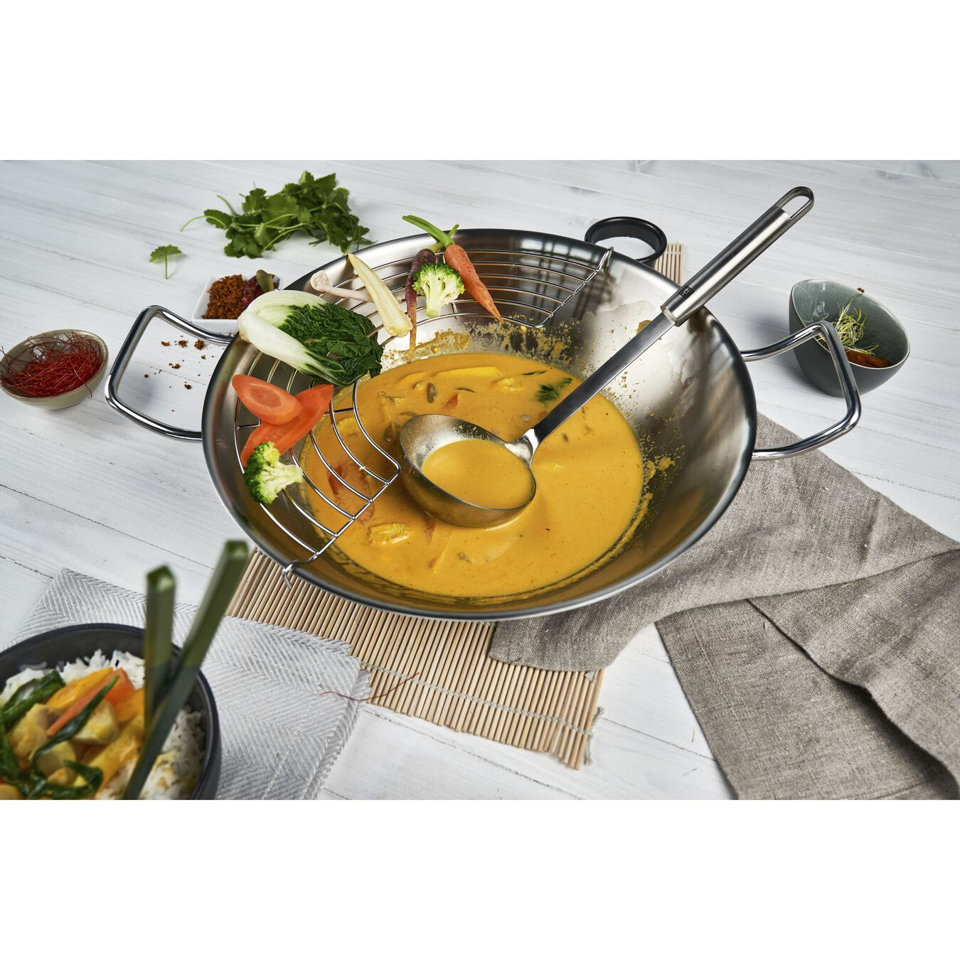 Soup ladle, 32 cm | silver | 18/10 Stainless Steel,,large 2