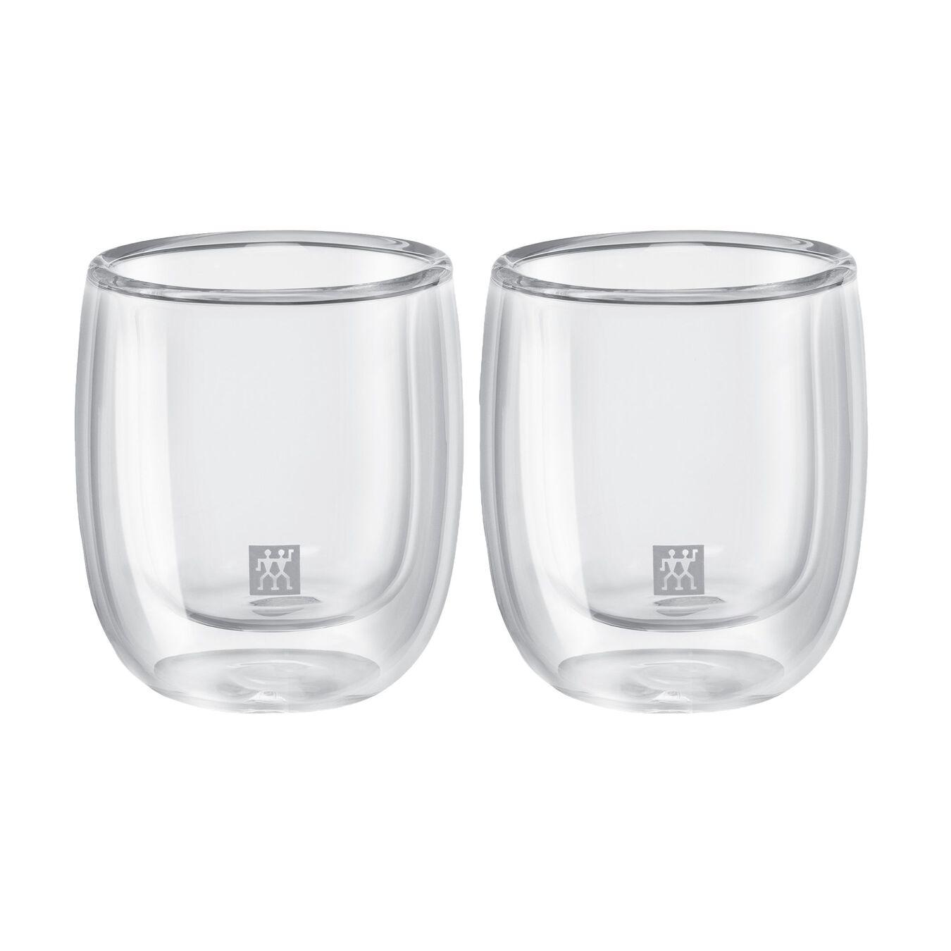 Doppelwandiges Glas, Espresso 80 ml / 2-tlg,,large 1
