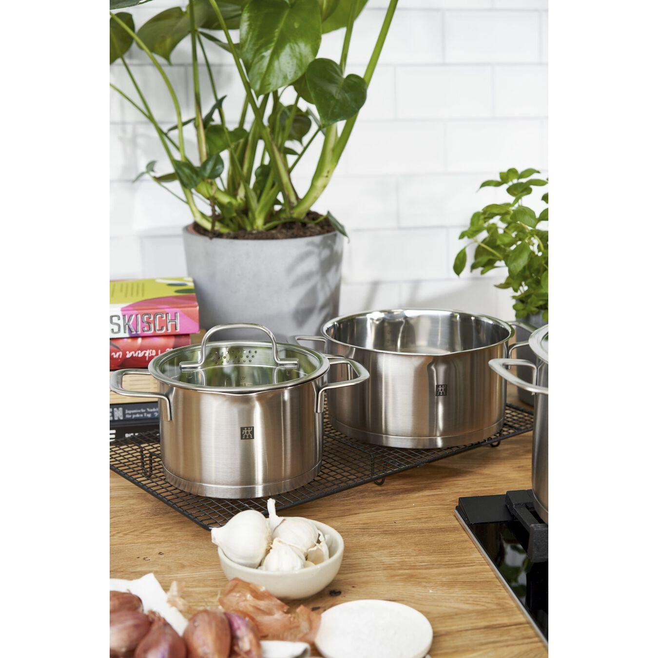 Ensemble de casseroles 4-pcs, Acier inoxydable,,large 9