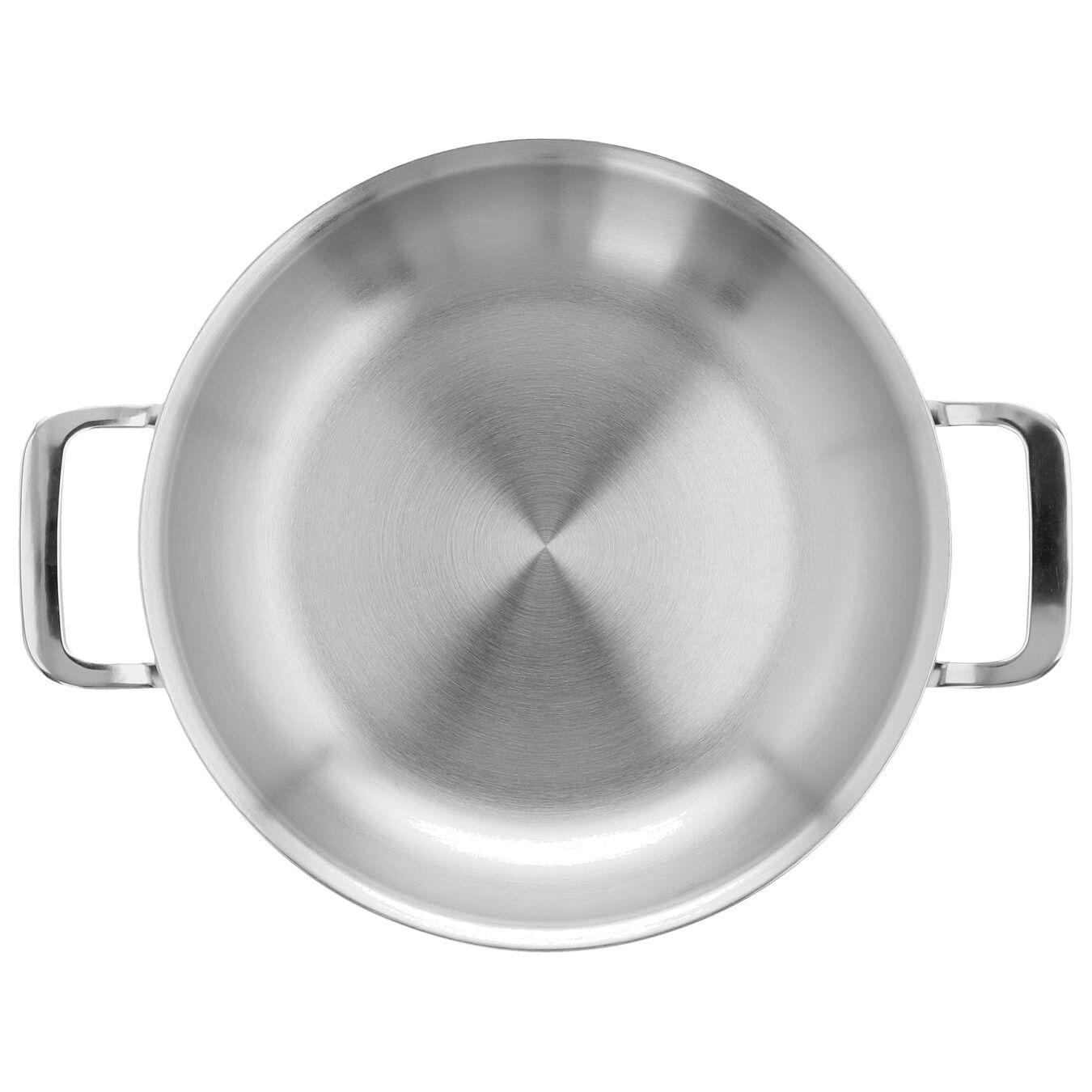 Bakpan met 2 handgrepen Zilverkleurig 24 cm,,large 5