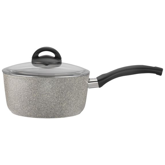 2.8-qt Forged Aluminum Nonstick Saucepan with Lid, , large