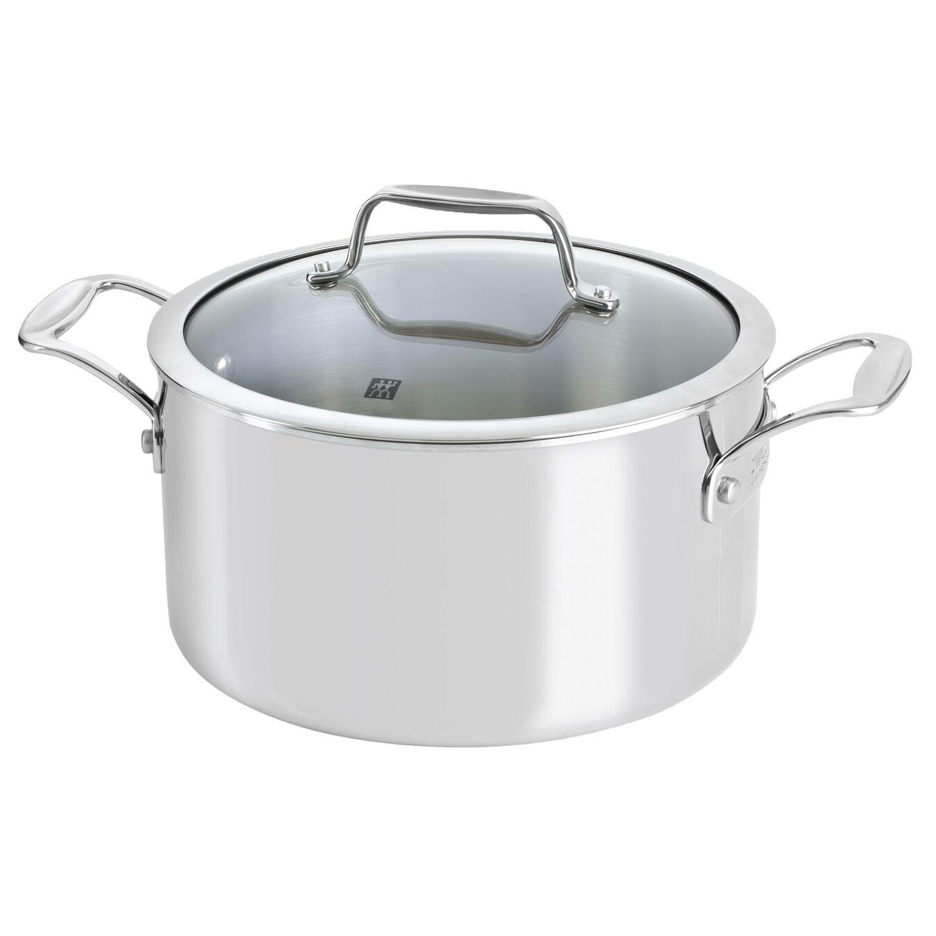 10 Piece cookware set with bonus non-stick frypan,,large 5