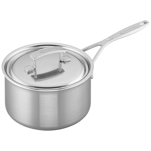 3-qt Stainless Steel Saucepan,,large