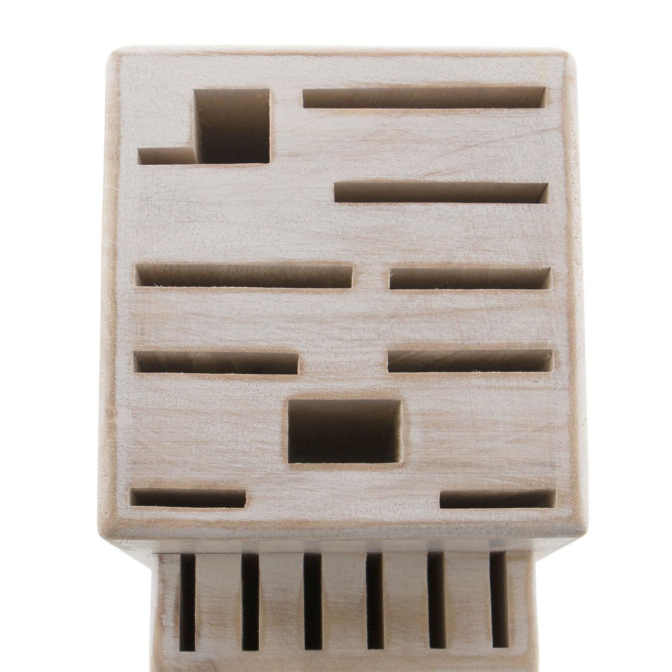 Rustic White 16-slot block,,large 3