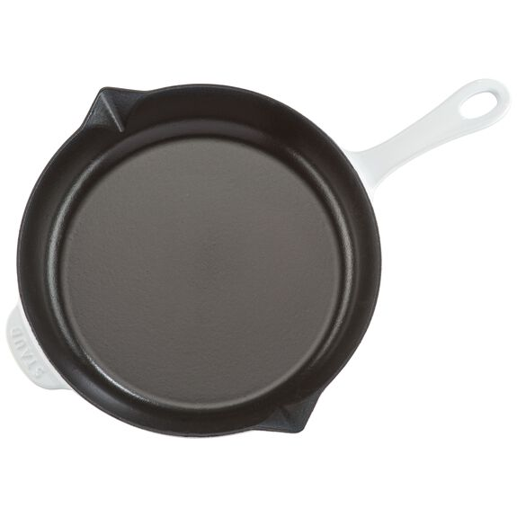 10-inch Cast iron Frying pan,,large 6