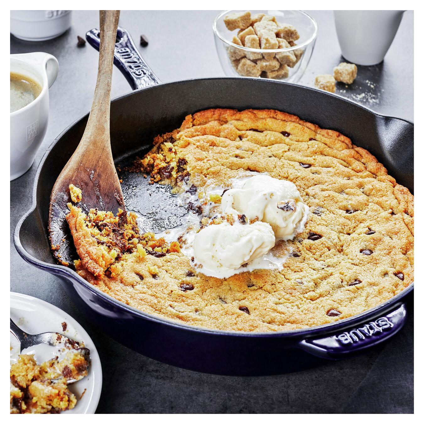 11-inch, Frying pan, dark blue,,large 6