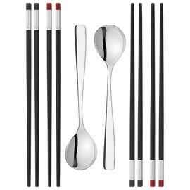 ZWILLING Essstäbchen, Chopstick Set 10-tlg, mattiert/poliert
