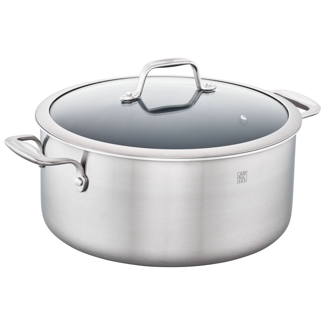 3-ply 8-qt Stainless Steel Ceramic Nonstick Stock Pot,,large 2