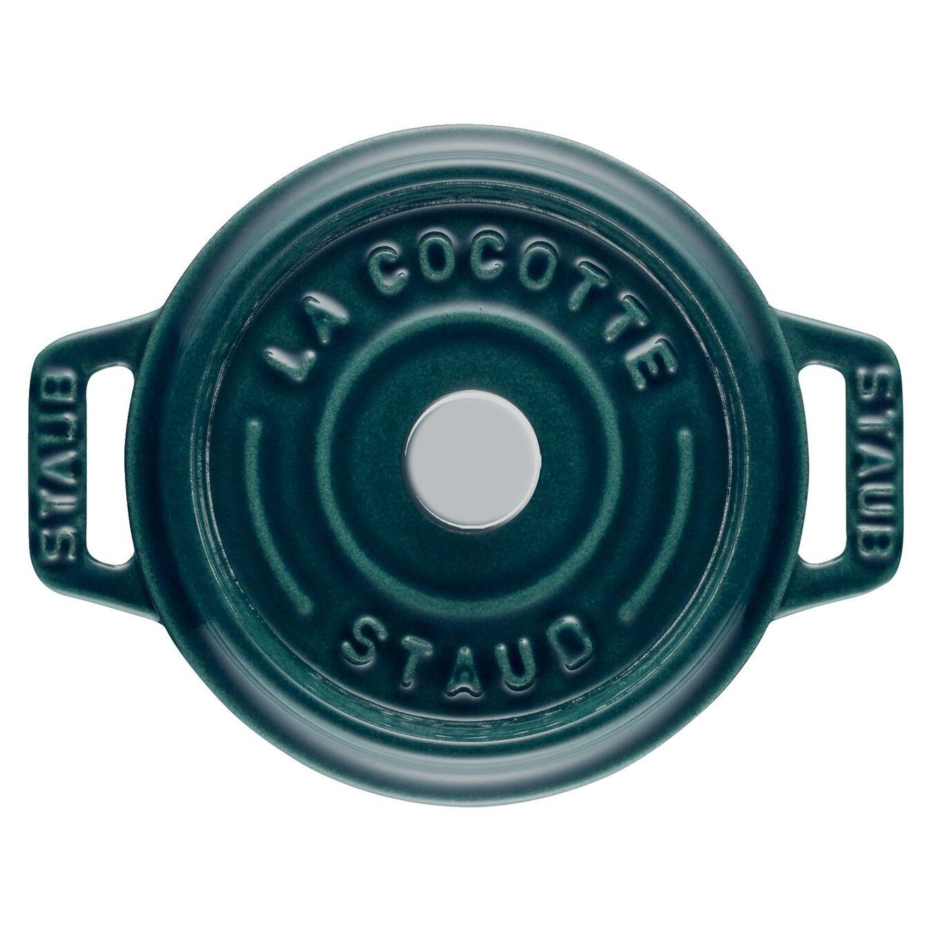 Mini Cocotte 10 cm, rund, La-Mer, Gusseisen,,large 3
