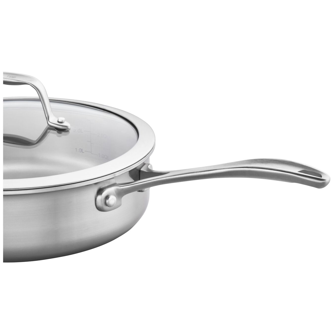 3-ply 3-qt Stainless Steel Saute Pan,,large 2