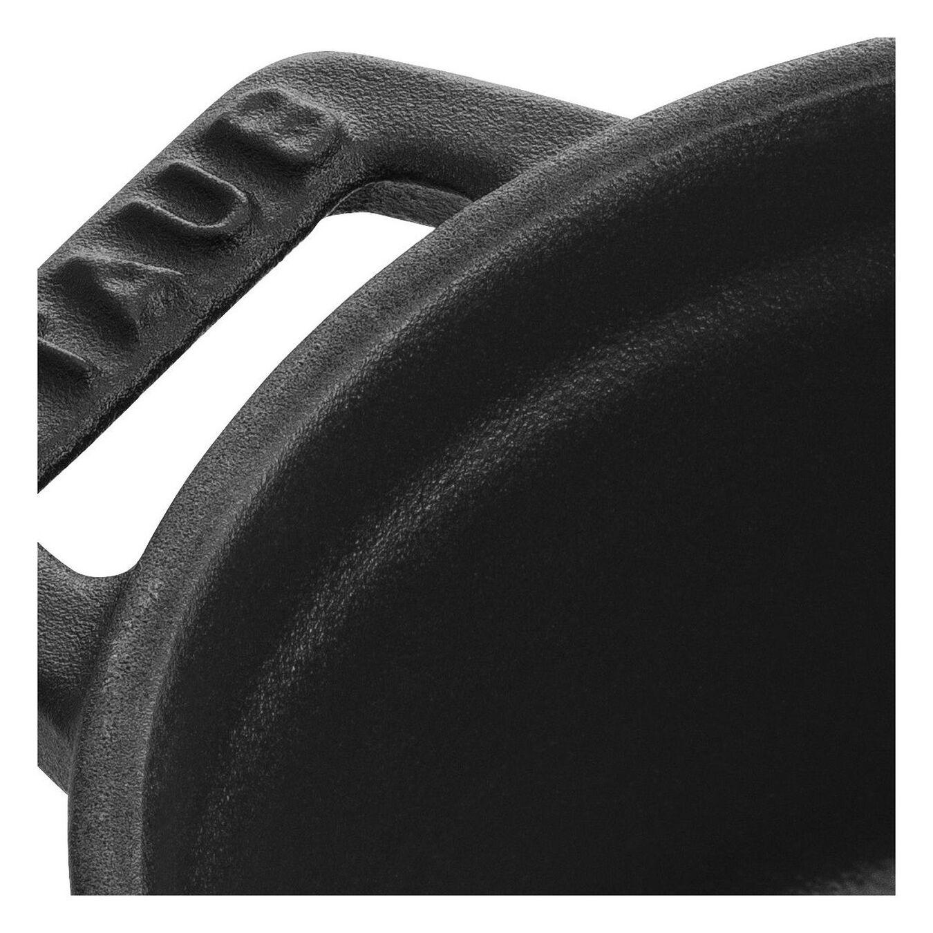 250 ml Cast iron round Mini Cocotte, Black,,large 4