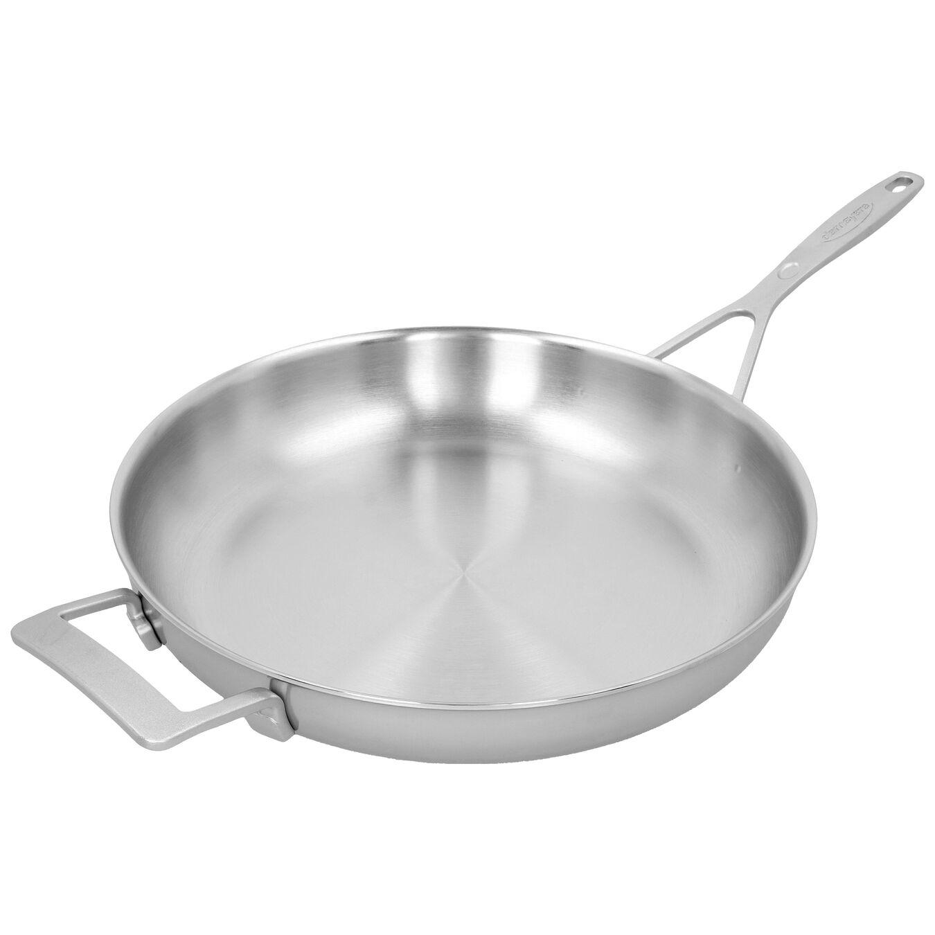 Stekpanna 32 cm, 18/10 Rostfritt stål, Silver,,large 3