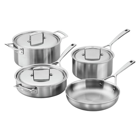 7-pc  Pots and pans set,,large