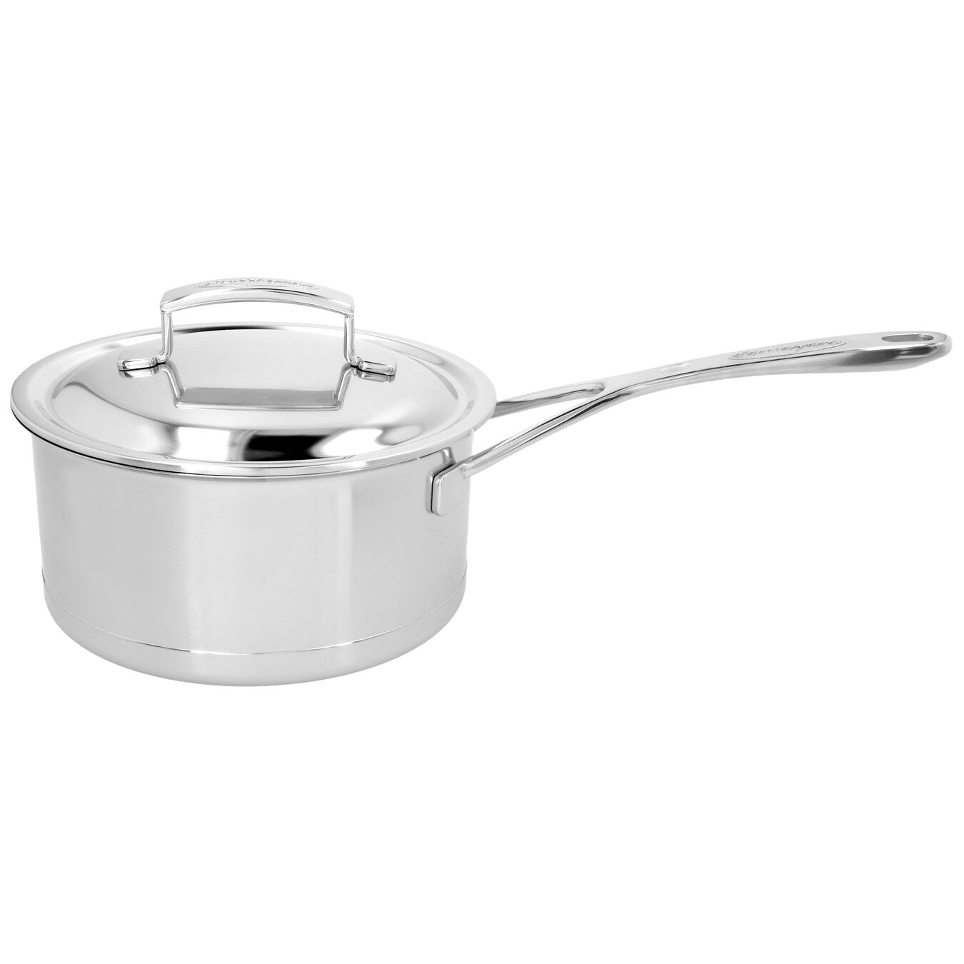 60-oz Sauce pan with double walled lid, 18/10 Stainless Steel ,,large 1