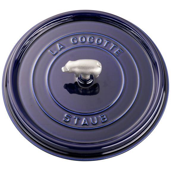 6-qt round Cocotte, Dark Blue,,large