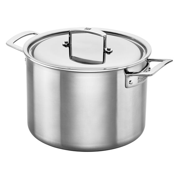 Stainless Steel 8-Qt. Stockpot,,large