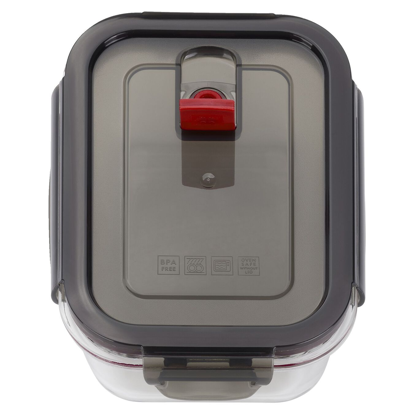 600 ml Borosilicate glass Glass Storage Container, Rectangular,,large 3