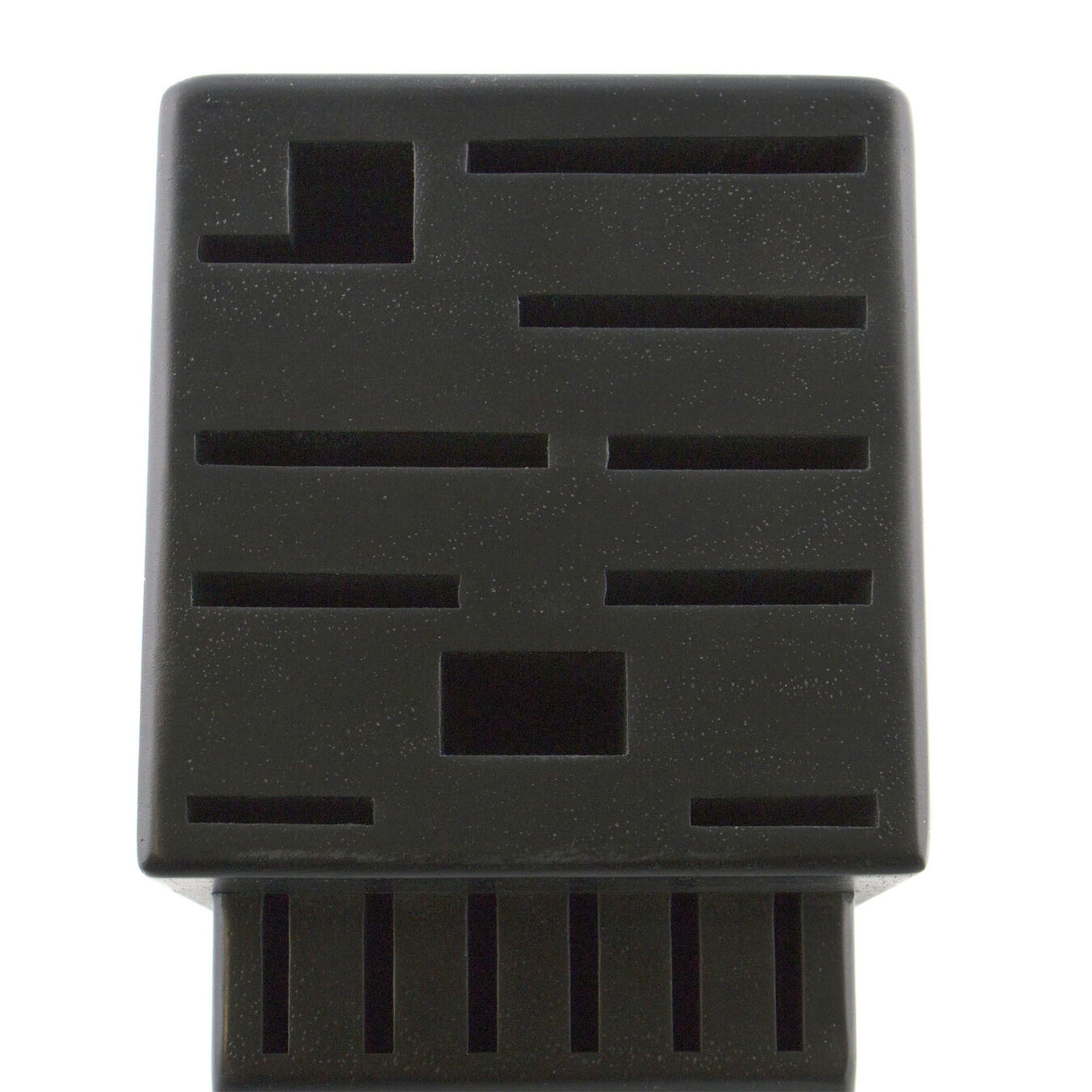 Rubberwood Black 16-slot block,,large 3