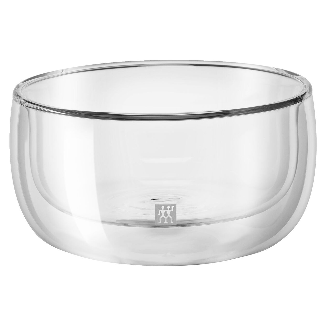 2 Piece Double-Wall Glass Bowl Set,,large 1