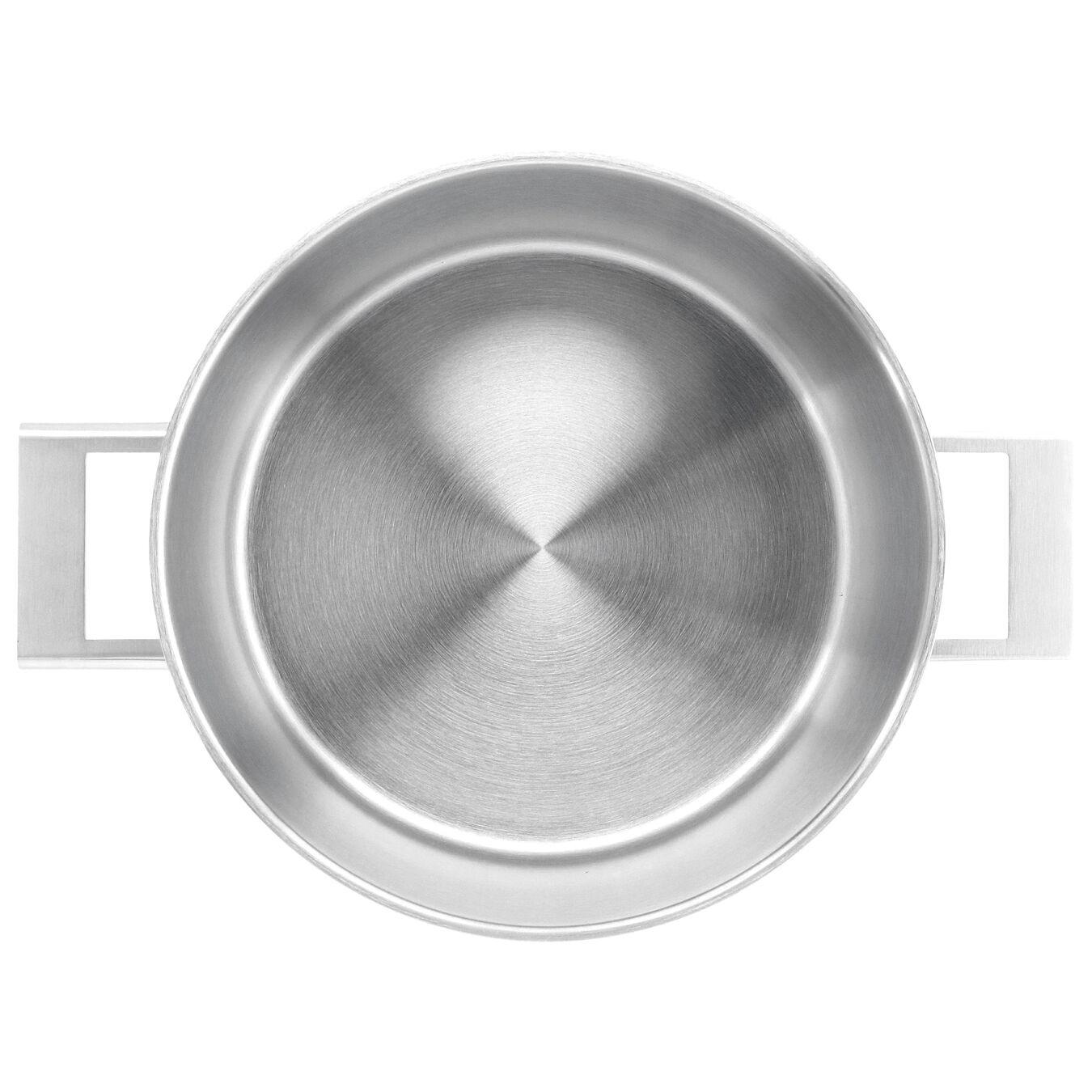Derin Tencere çift çıdarlı kapak | 18/10 Paslanmaz Çelik | 24 cm,,large 2