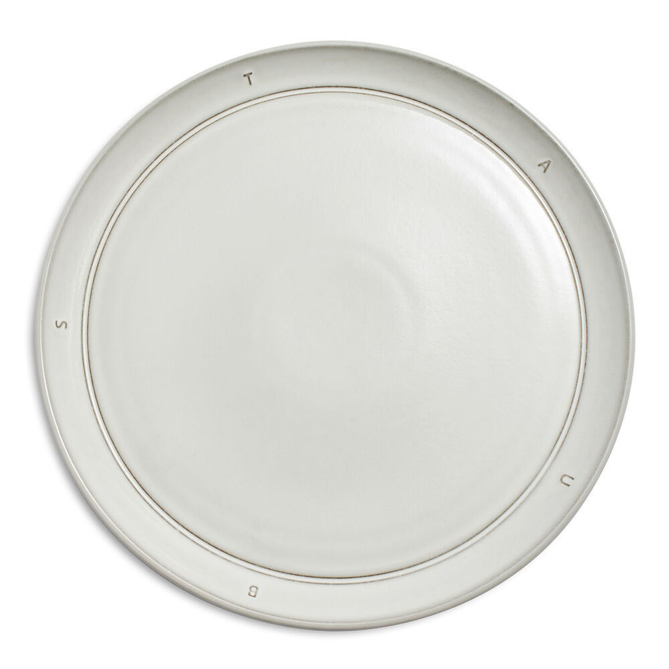 Serving set, 12 Piece | Off-White | Ceramic | round | Ceramic,,large 4