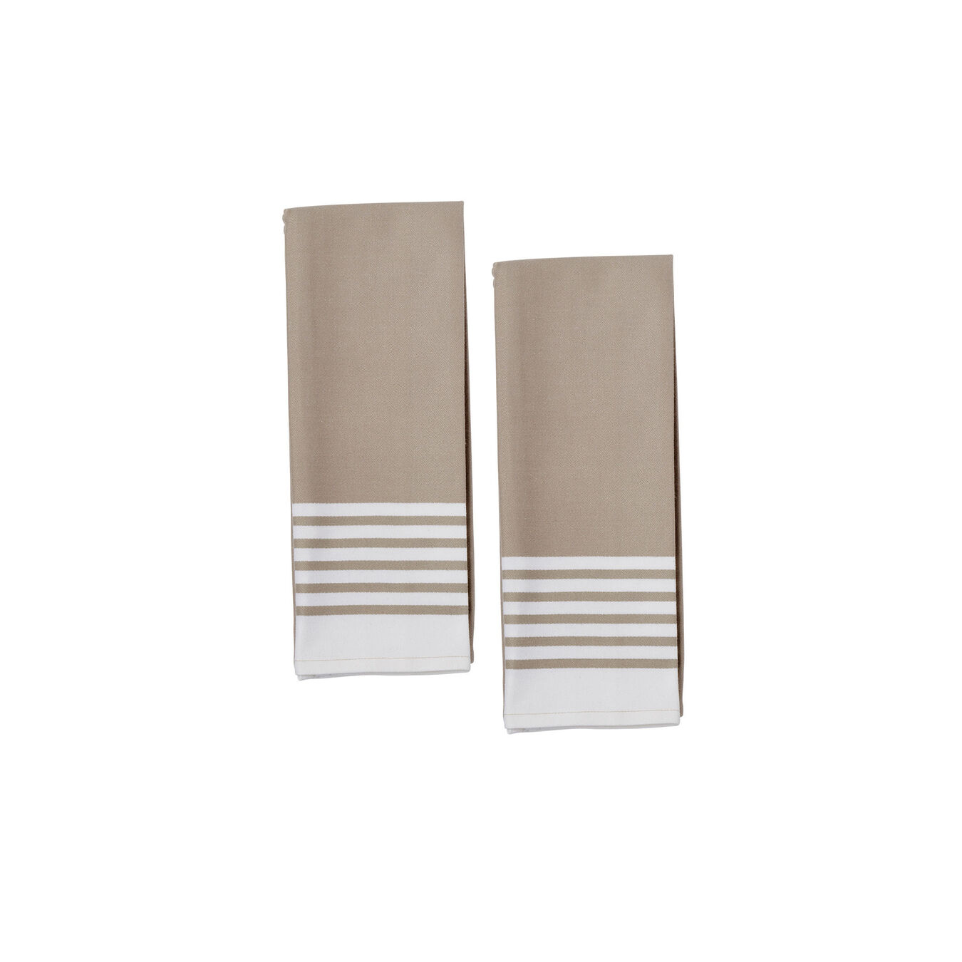 Kitchen towel, taupe,,large 2