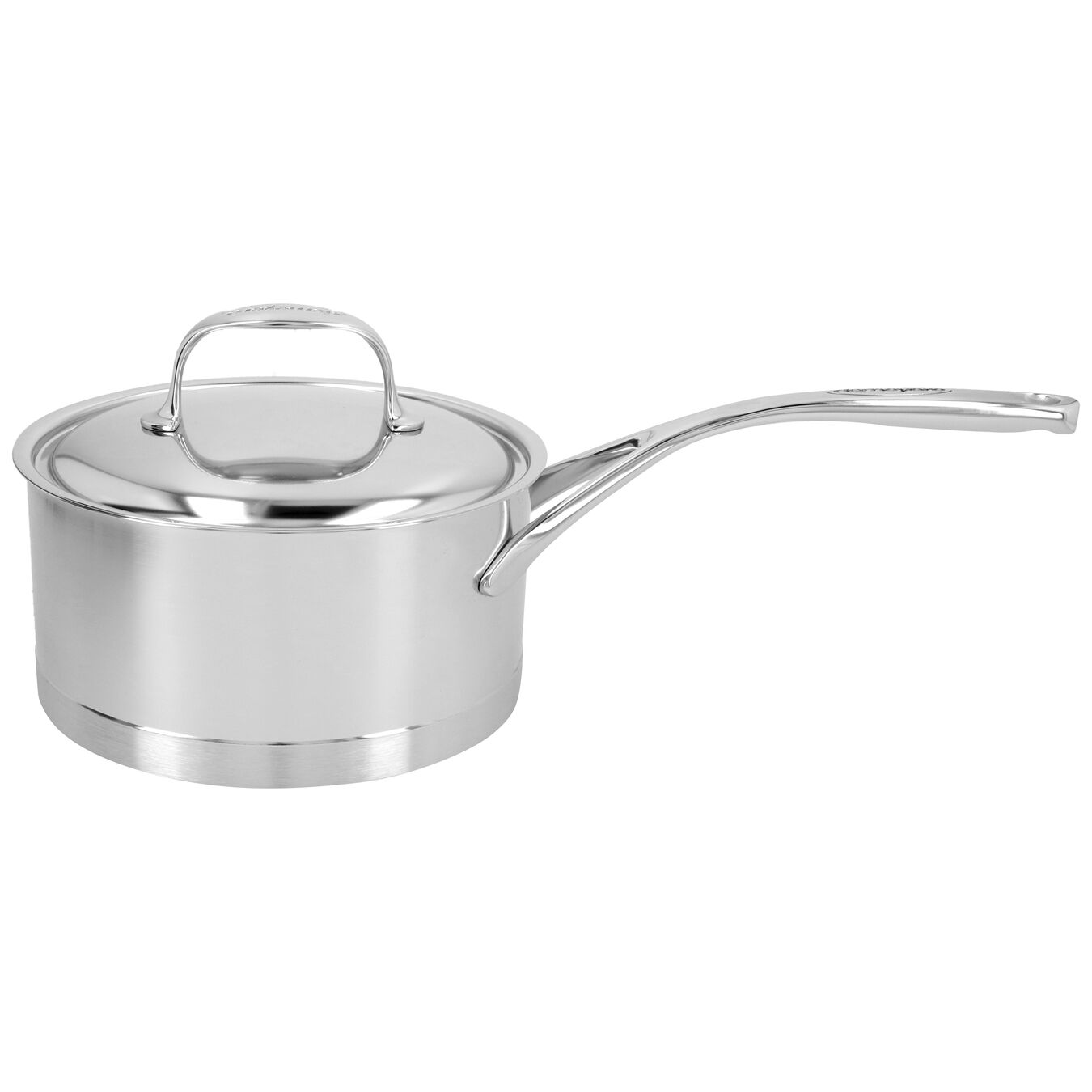 2.25 qt Sauce pan with lid, 18/10 Stainless Steel ,,large 1