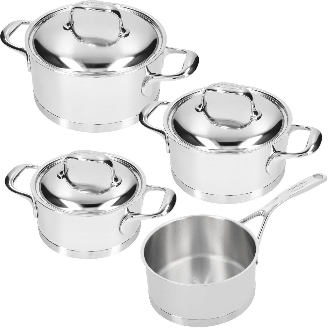 Set de casseroles, 4-pces,,large 1