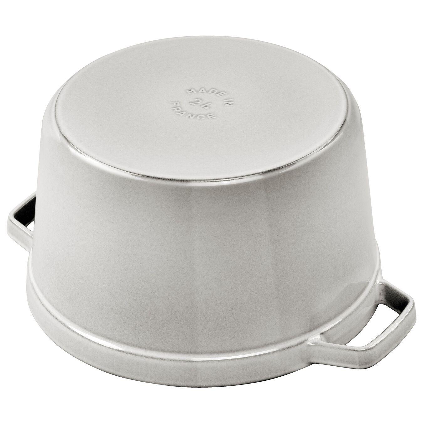 4,75 l Cast iron round Faitout, White Truffle,,large 2