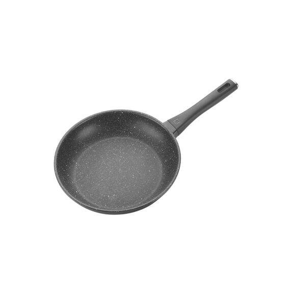 Kızartma Tavası, 45 cm x 25 cm | PTFE | Siyah | Yuvarlak,,large 2