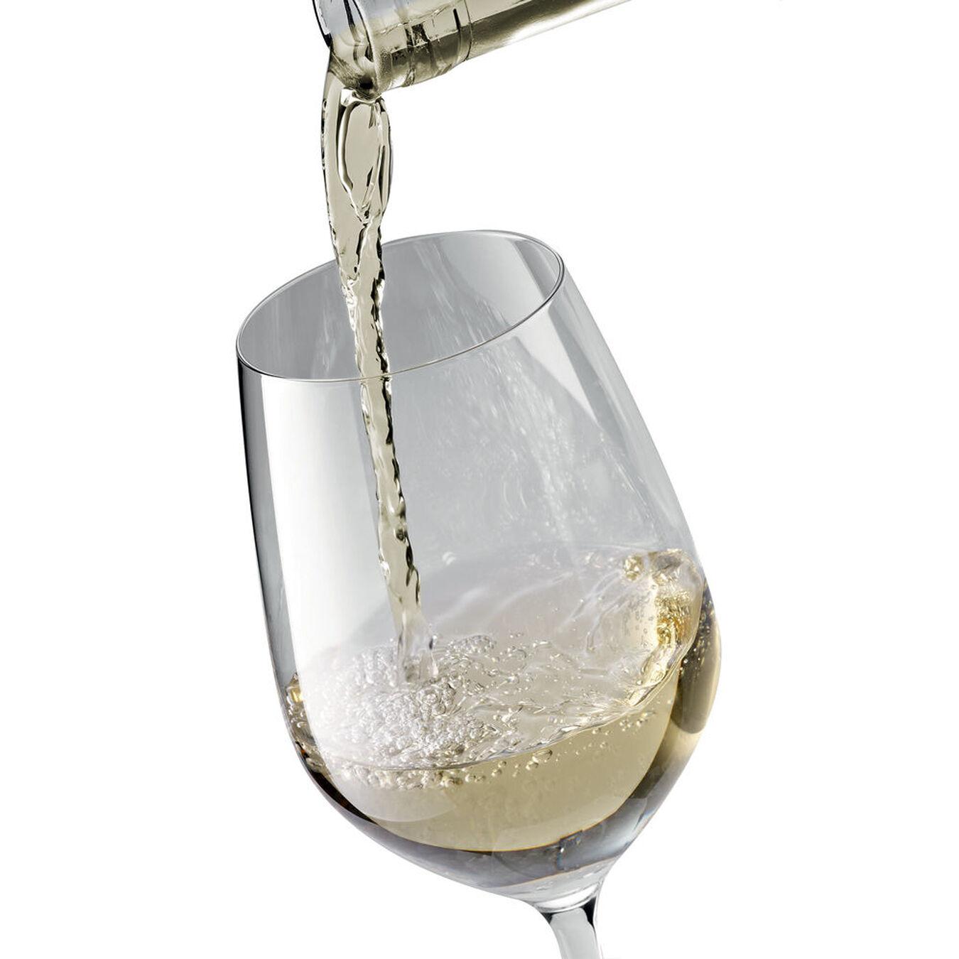 6-pc Burgundy White Glass Set,,large 2