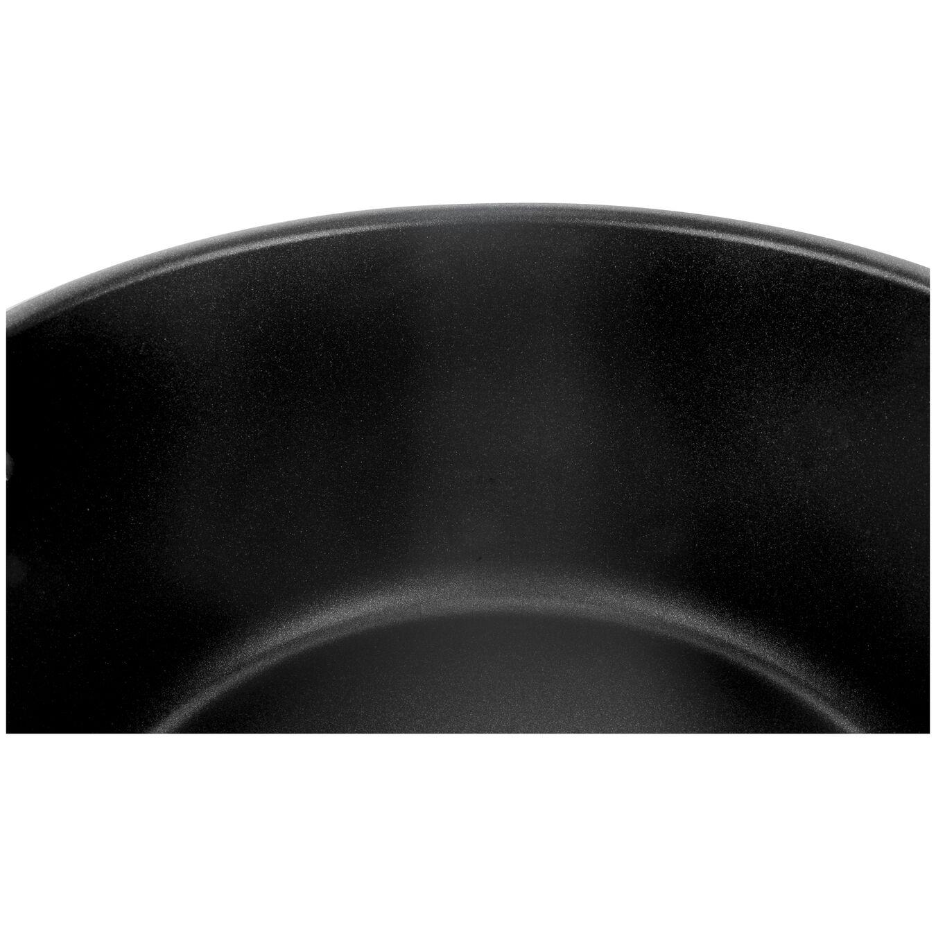 Aluminum round Sauce pan, Silver-Black,,large 4
