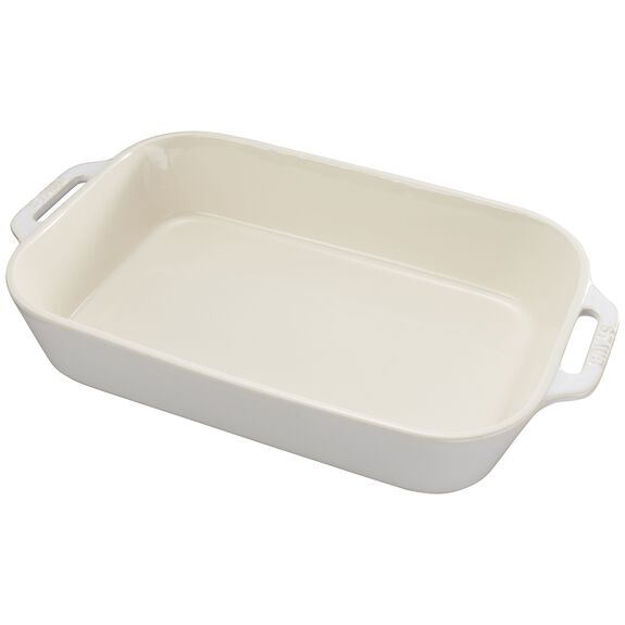 "13x9"" Rectangular Baking Dish, Rustic Ivory, , large"