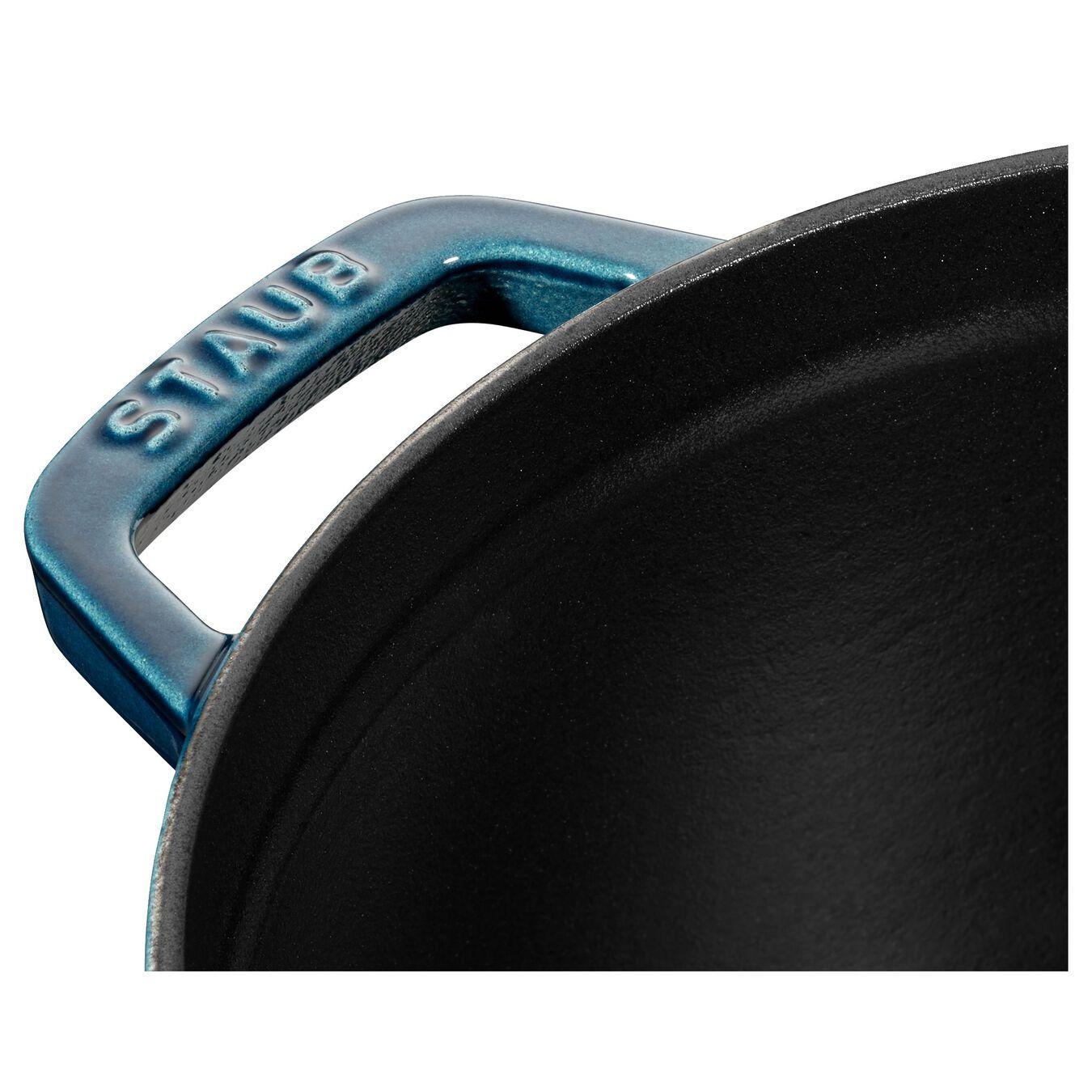 Cocotte en fonte 24 cm / 3,8 l, Rond, Blue La-Mer,,large 5