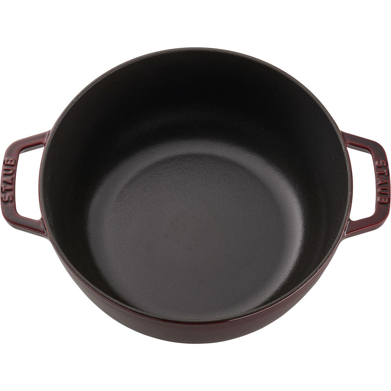 3.75 qt, French oven, grenadine,,large 9