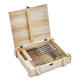 ZWILLING King, 12-pc, 13/0 chrome steel Steak cutlery set