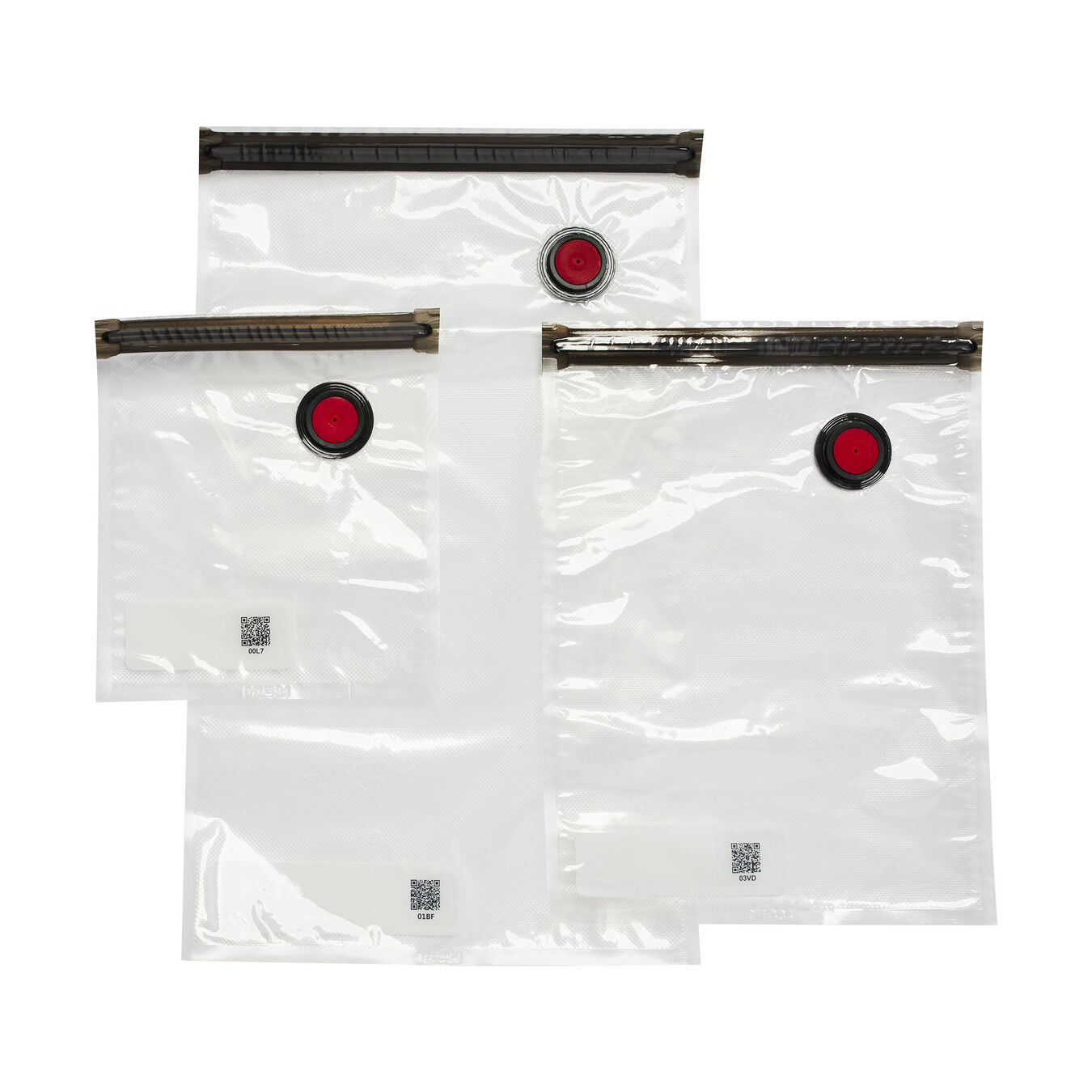 small/medium/large / 10 Piece Vacuum bag set, Plastic ,,large 4