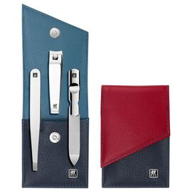ZWILLING TWINOX, Snap fastener case, 3 Piece | calf leather