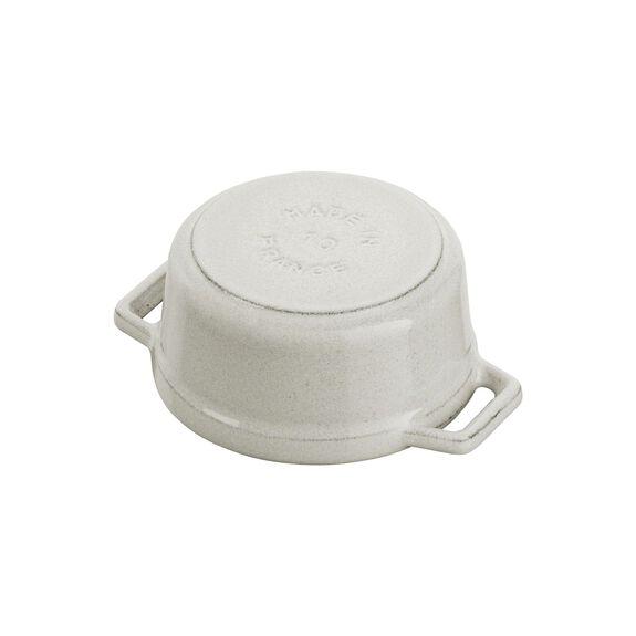 .25-qt Mini Round Cocotte - White Truffle,,large 8