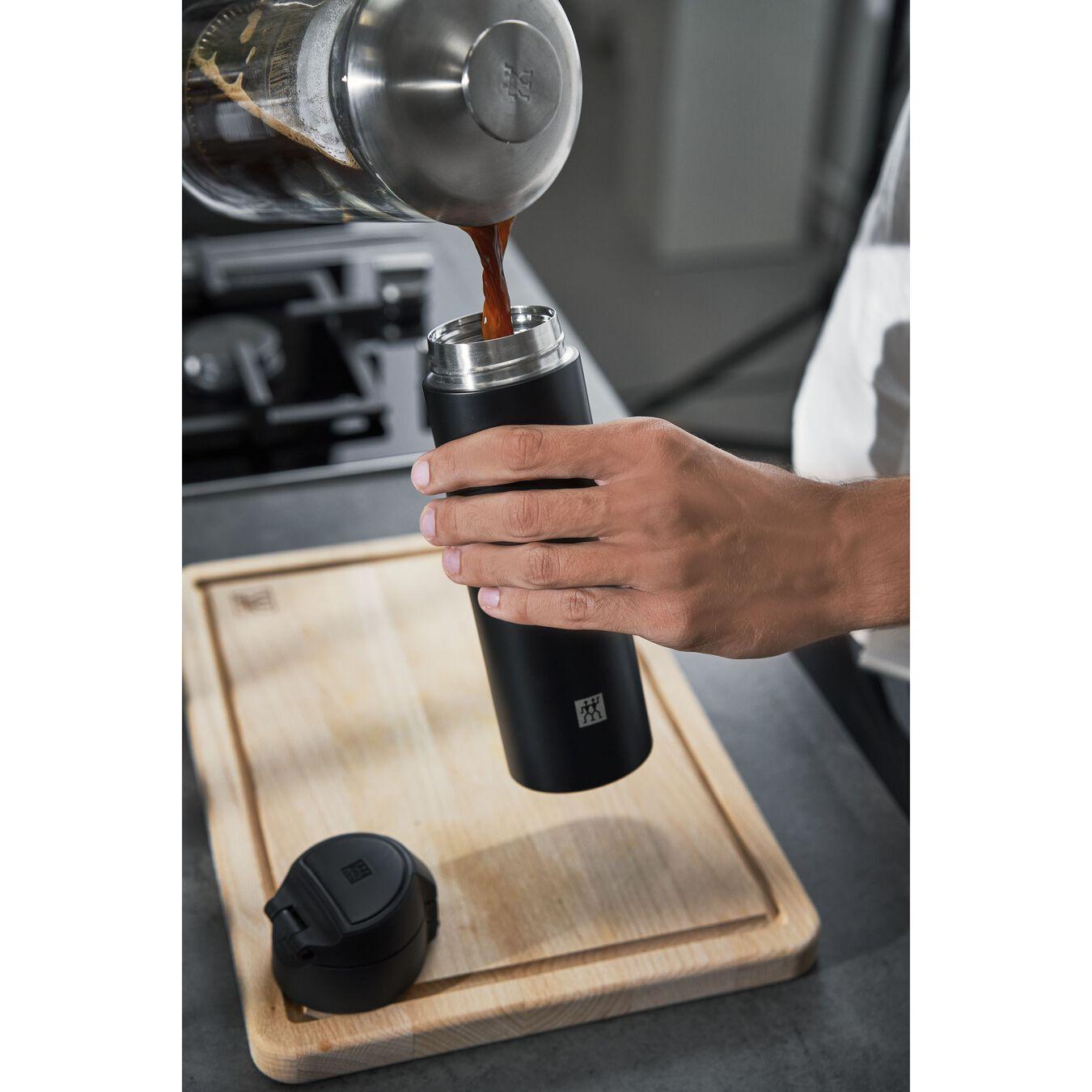 Borraccia termica - 450 ml, acciaio inox,,large 6