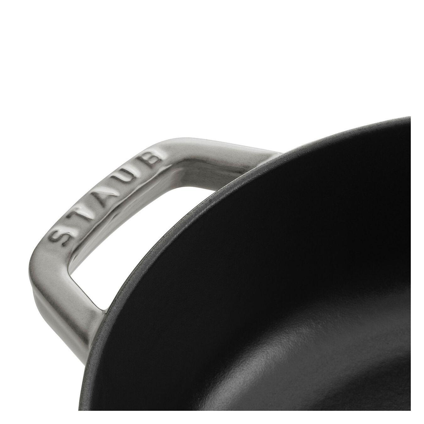 Caçarola redonda baixa chistera Chistera 28 cm, Ferro fundido,,large 3