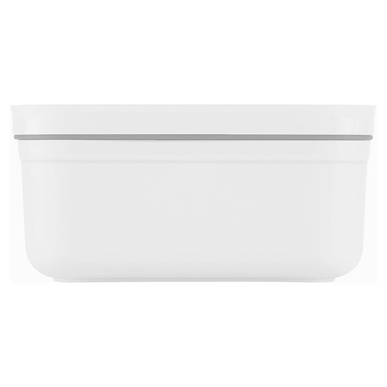 Lunch box sottovuoto - S, plastica, bianco,,large 2