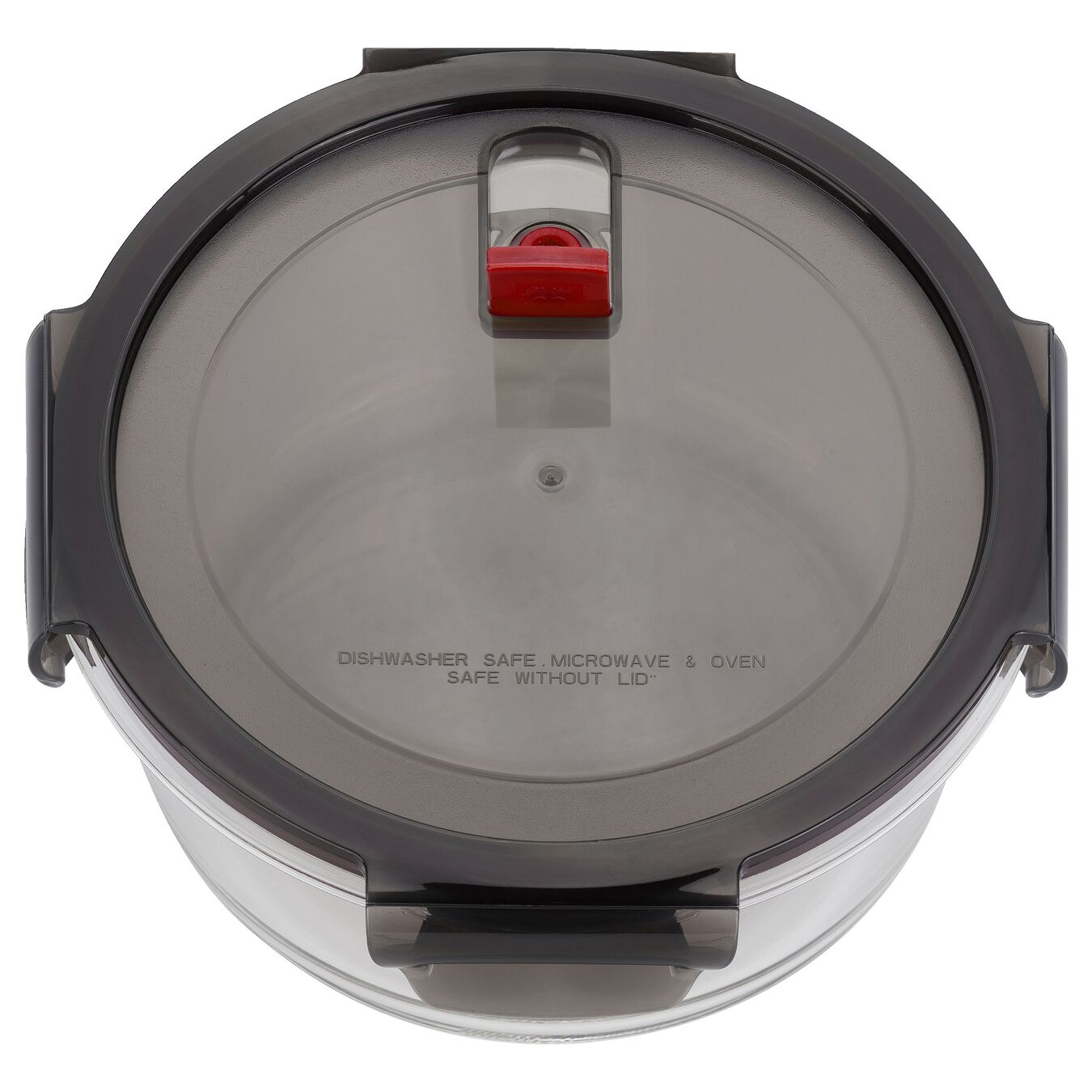 1.25 l Glass Storage Container, Round,,large 2