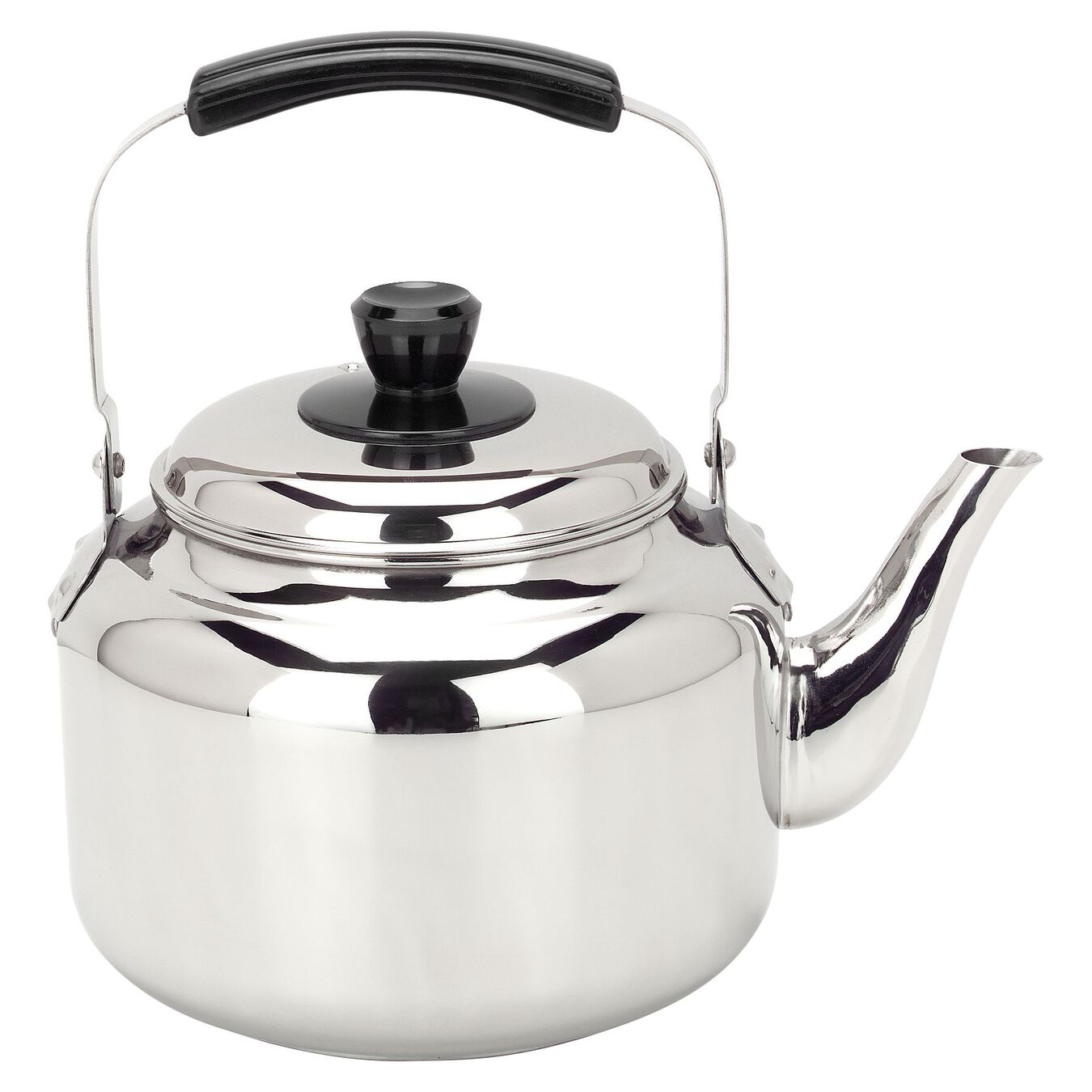 6.25 qt Kettle, 18/10 Stainless Steel ,,large 1