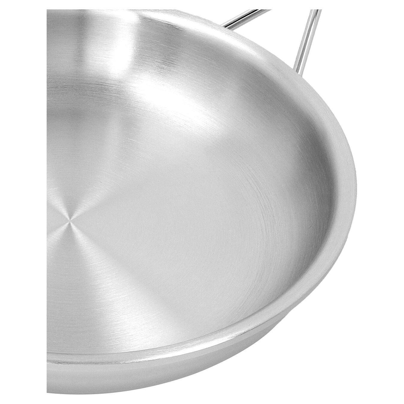 11-inch, 18/10 Stainless Steel, Non-stick, Frying pan,,large 3