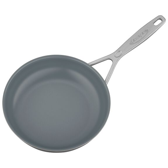 8-inch Stainless Steel Ceramic Nonstick Fry Pan,,large 3